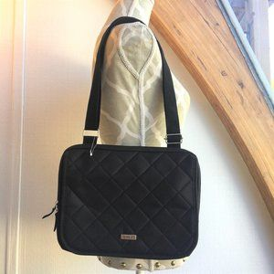 NWOT! Roots 73 Ipad Bag - Black Quilted (2607)